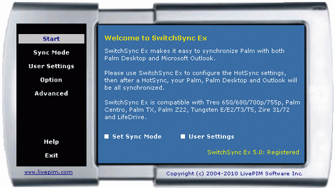 SwitchSync Ex Screenshot