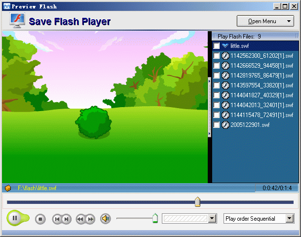 Save Flash Player Screenshot