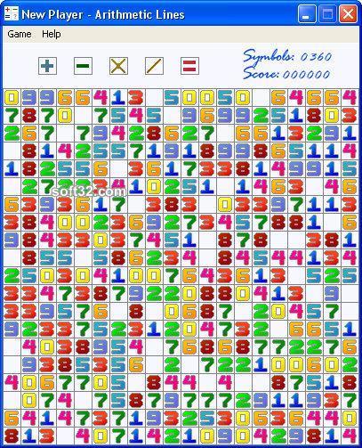 Arithmetic Lines Screenshot 1