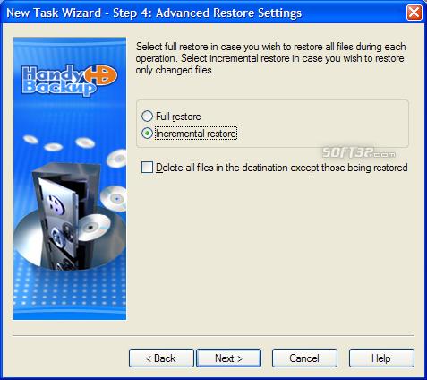 Handy Backup Screenshot 8