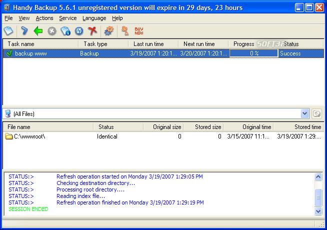 Handy Backup Screenshot 9