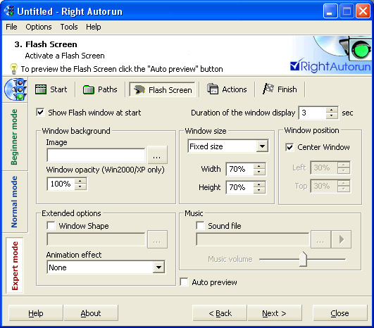Right Autorun Screenshot 1