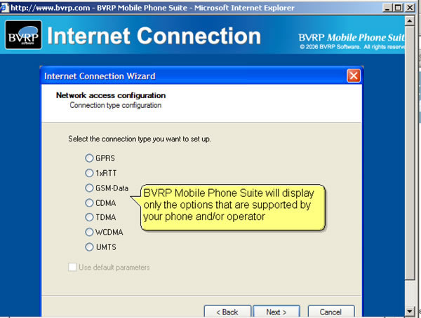 BVRP Mobile Phone Suite Screenshot 1