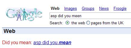ASP Did You Mean Screenshot 1