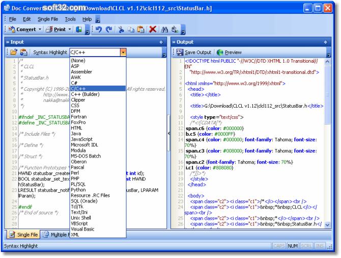 Doc Convertor Screenshot 2