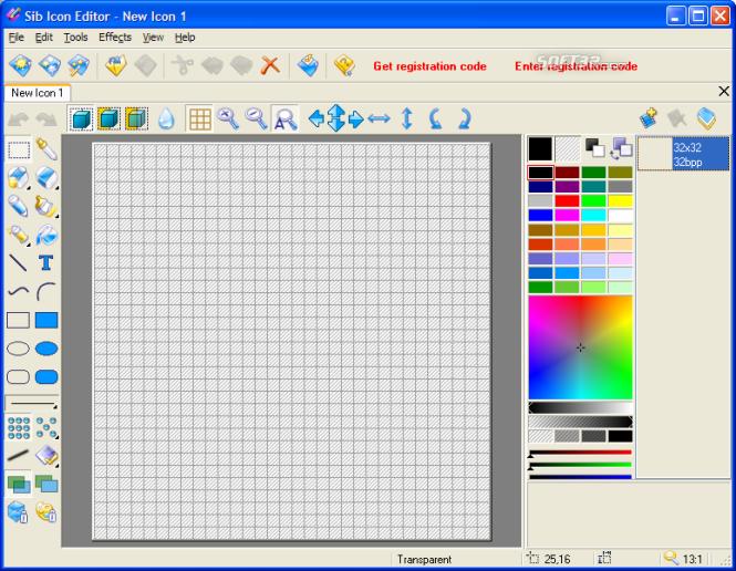 Sib Icon Editor Screenshot 7