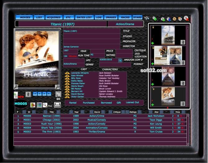 Movies Database Mac Screenshot 3