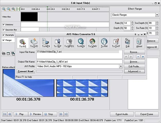 AVS Video Tools Screenshot 1