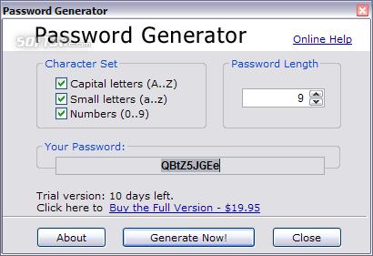 Password Generator 2.0 Screenshot 3