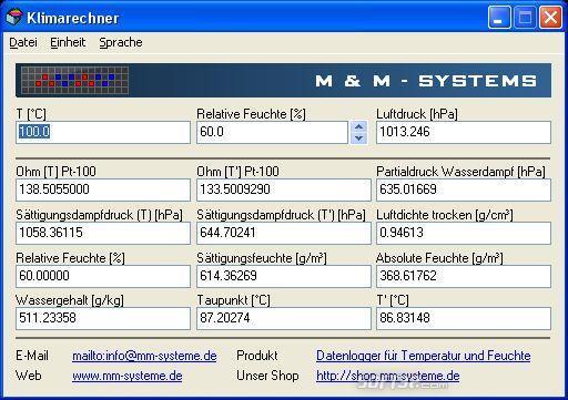 ClimeCalc Screenshot 2