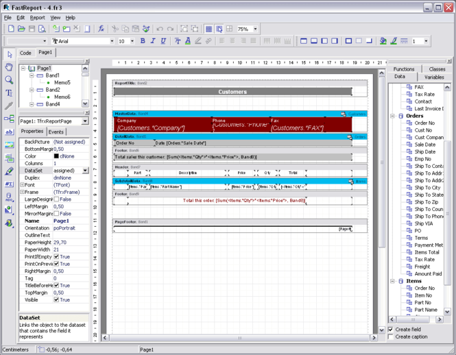 FastReport Studio 4 Screenshot