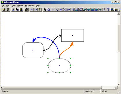 UCCDraw Flow/Diagramming Component Screenshot