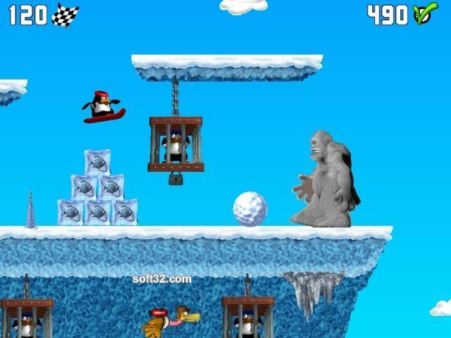 Penguin versus Yeti Screenshot 3
