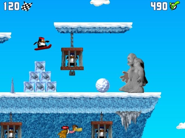 Penguin versus Yeti Screenshot