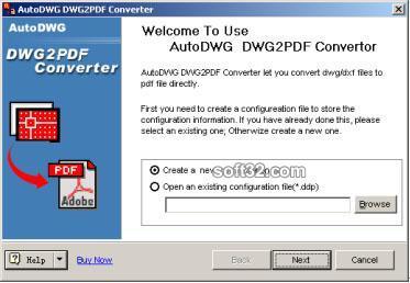 AutoCAD to PDF Converter OEM Screenshot 2