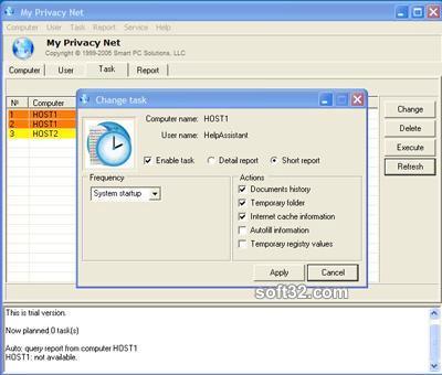 My Privacy Net Screenshot