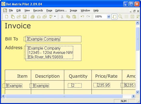Dot Matrix Pilot Screenshot