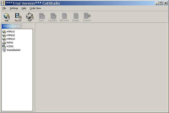 CatStudio Catalog Publishing Software Screenshot