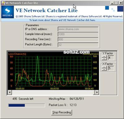VE Network Catcher Lite Screenshot 1
