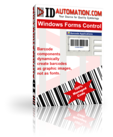 Barcode .NET Windows Forms Control DLL Screenshot