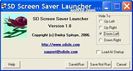 SD Screen Saver Launcher Screenshot