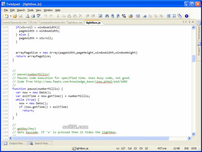 Twistpad Screenshot 2