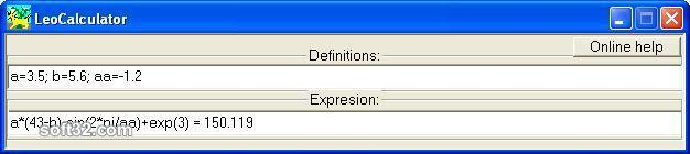 LeoCalculator Screenshot 2