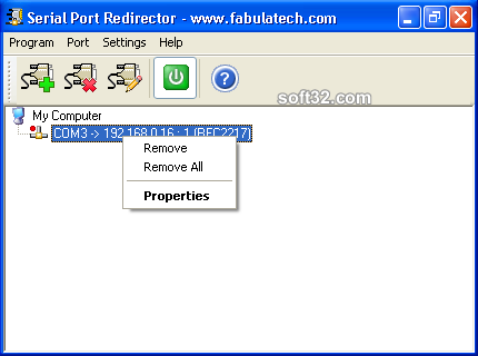 Serial Port Redirector Screenshot 3