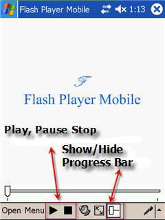 Flash Player Mobile Screenshot