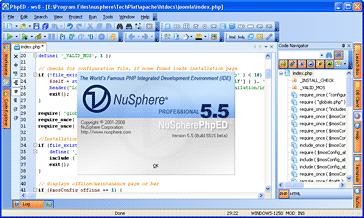 NuSphere PhpED Screenshot 1