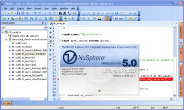 NuSphere PhpED Screenshot 2