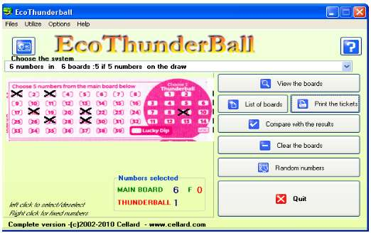 EcoThunderball Screenshot
