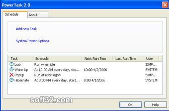 PowerTask Screenshot 3