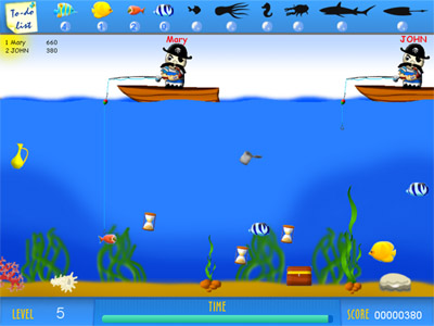 Crazy Fishing Multiplayer Screenshot