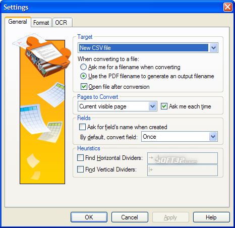 PDF2XL: Convert PDF to Excel Screenshot 2