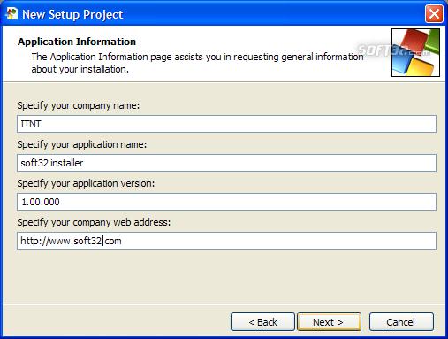 SetupBuilder Screenshot 3