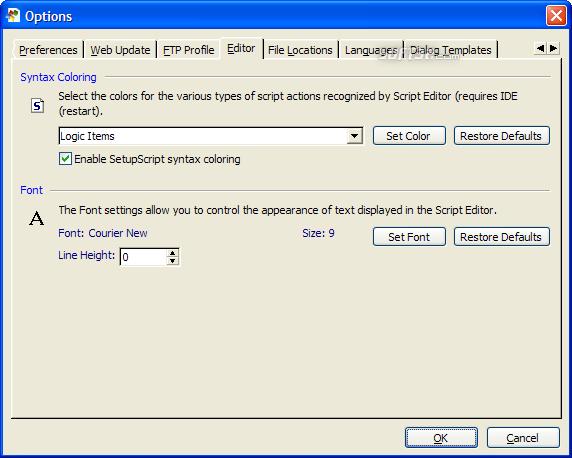 SetupBuilder Screenshot 5