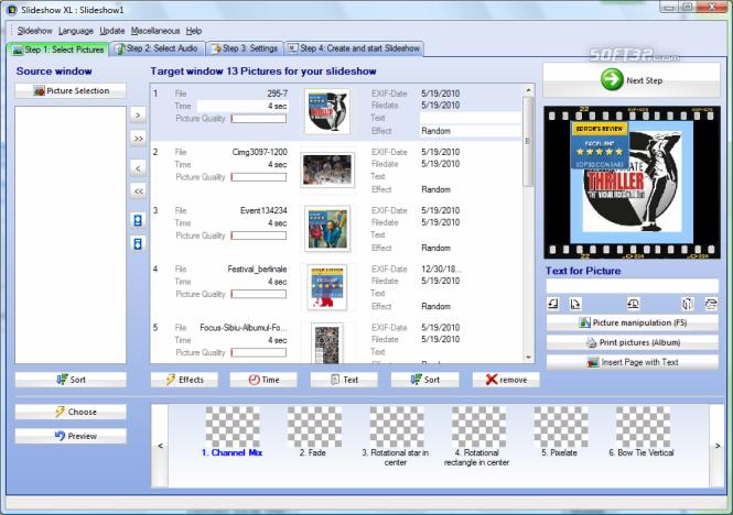 Slideshow XL Screenshot 3