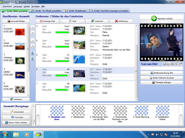 Fotoarchiv Plus Screenshot 1