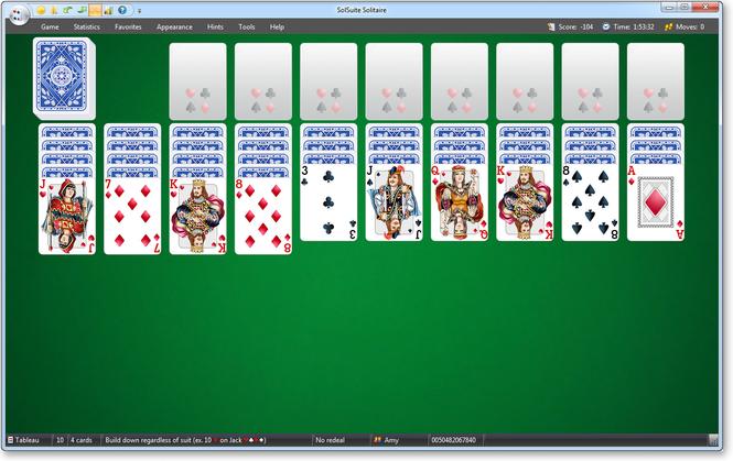 SolSuite Solitaire Screenshot 4