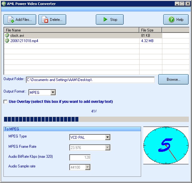 AML Power Video Converter Screenshot 1