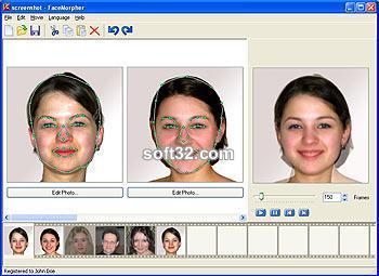 FaceMorpher Screenshot 2