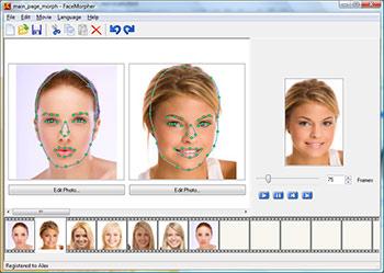 FaceMorpher Screenshot 1