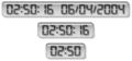 LCD Clock 1