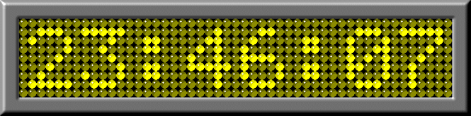 Led Digital Clock Screenshot