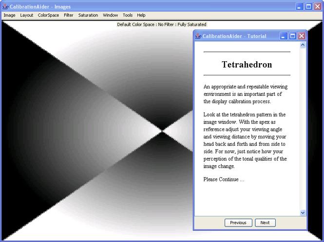 CalibrationAider (For Windows) Screenshot