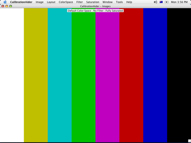 CalibrationAider (For Mac) Screenshot