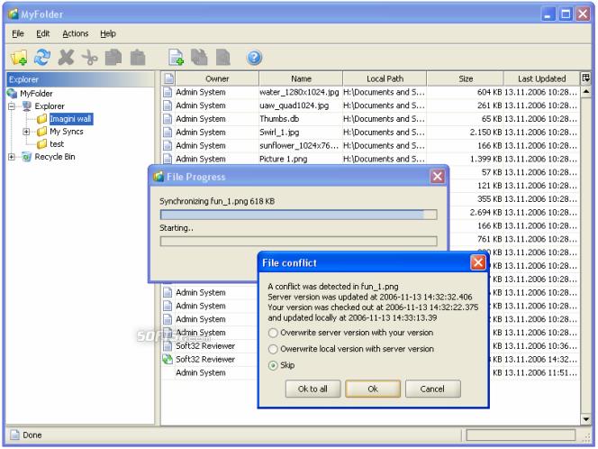 MyFolder Screenshot 2