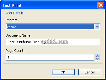 Print Distributor Screenshot 2