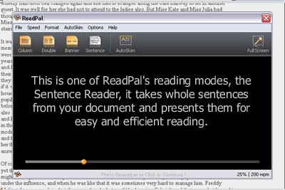 ReadPal Reader Screenshot